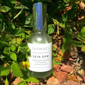 Farmacy Skin Dew Mist and makeup setting spray