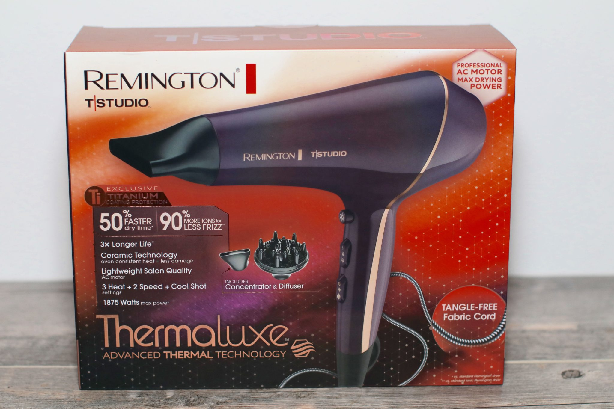 Remington Thermaluxe Hair Dryer