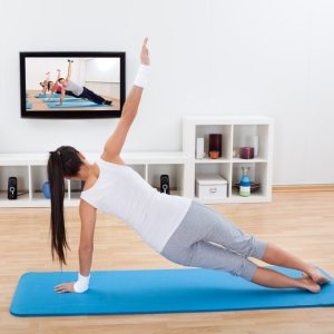 Review home yoga program