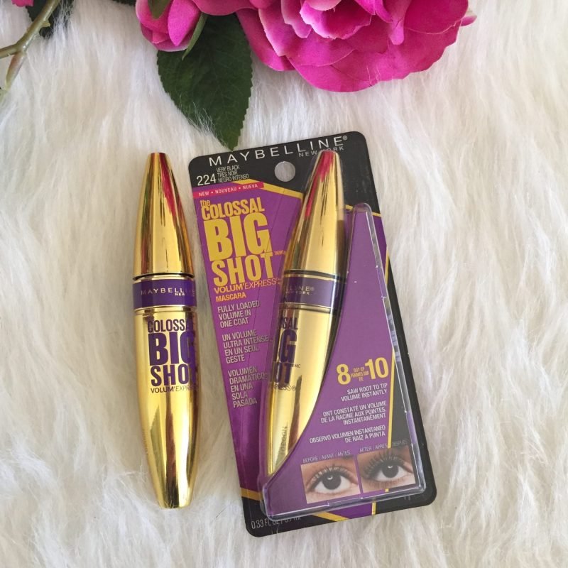 Maybelline Colossal Big Shot Volume Express mascara review