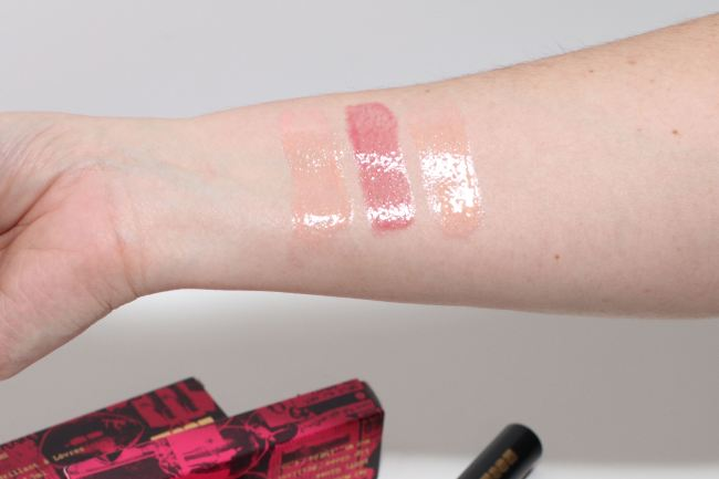 Swatches Lust Gloss Pat McGrath Labs