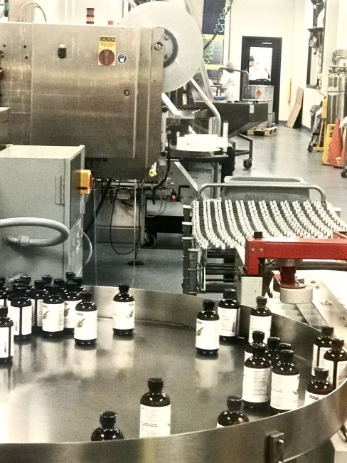 NOW Essential Oils manufacturing