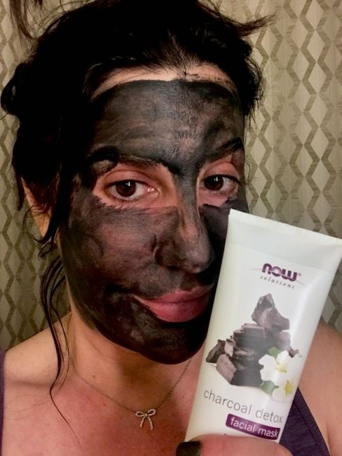 NOW Solutions charcoal detox face mask