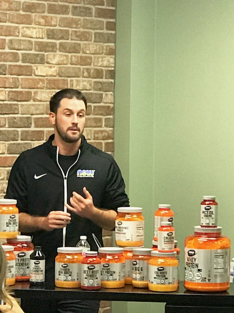 Bryan Morin NOW Sports Nutrition Brand Manager