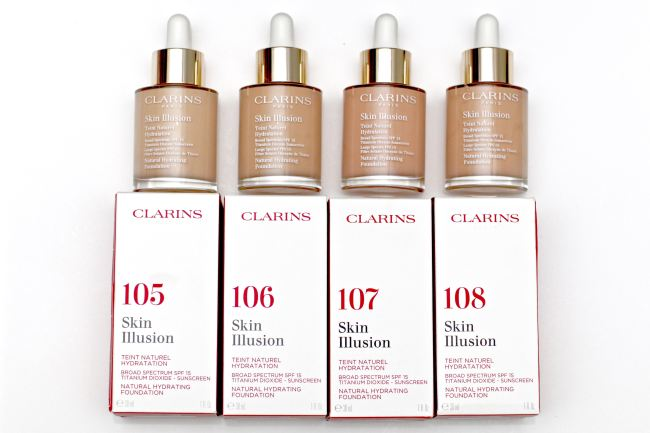 Clarins Serum Foundation