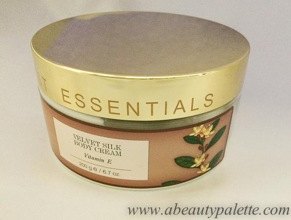 Forest Essentials Velvet Silk Body Cream Vitamin E