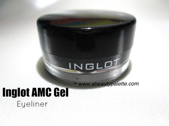 Inglot AMC Gel Eyeliner 77- Review, Price
