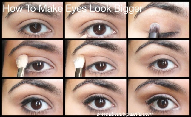 How to make eyes look bigger
