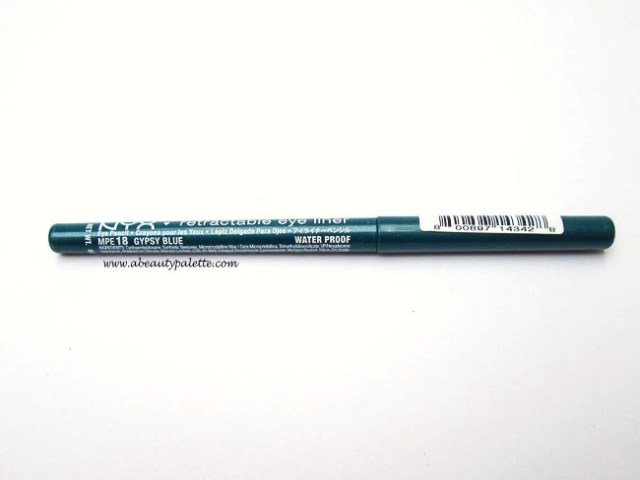 NYX Retractable Eye Liner in Gypsy Blue