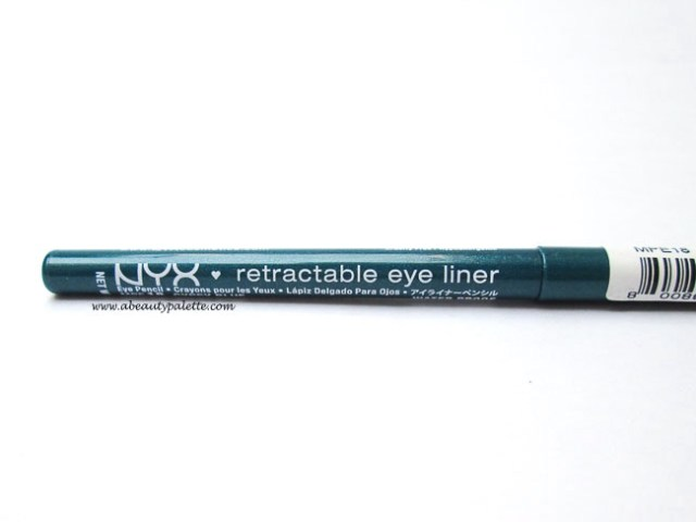 NYX Retractable Eye Liner- Gypsy Blue