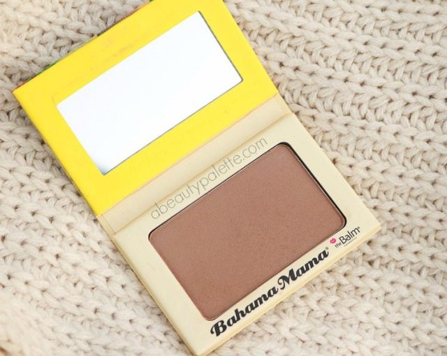 theBalm Bahama Mama Bronzer: Review, Swatches, Availability in India
