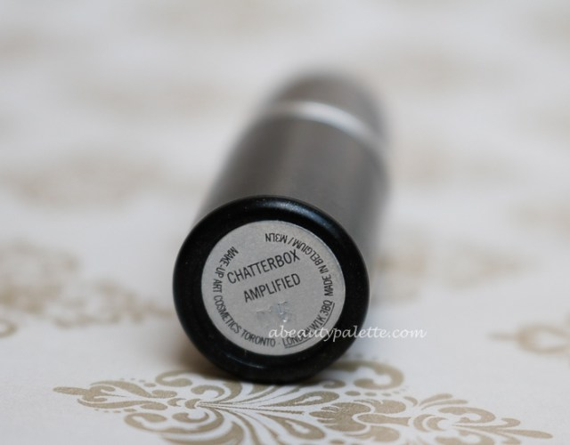 Mac Amplified Creme Lipstick Chatterbox Review