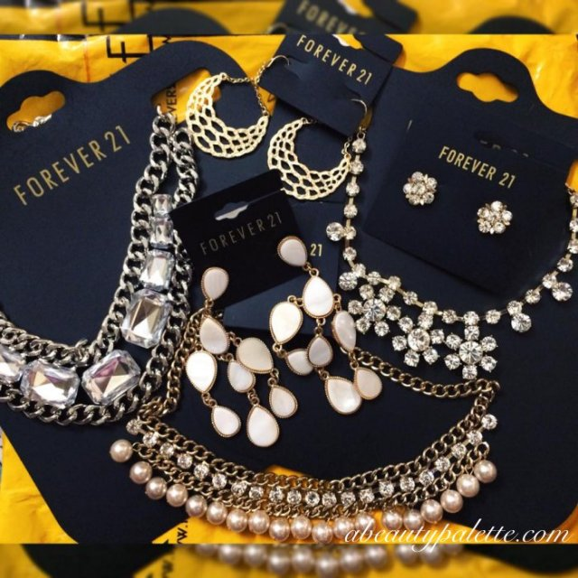 Forever 21 jewelley