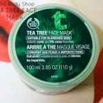 The Body Shop Tea Tree Mask- Review, Price