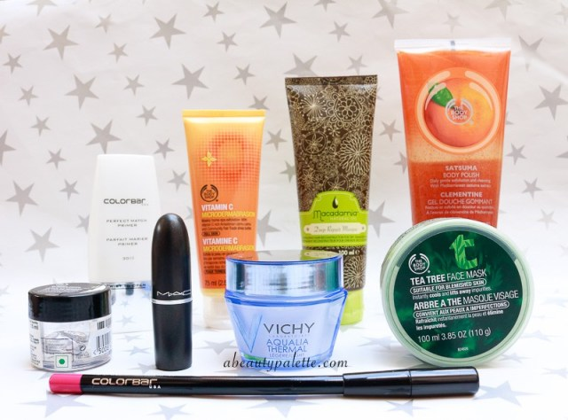 September Shopping Haul: The Body Shop, Colorbar, Vichy, Macademia, MAC