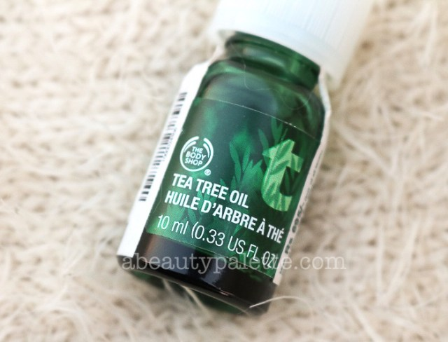 The Body Shop Tea Tree Oil- How To Use