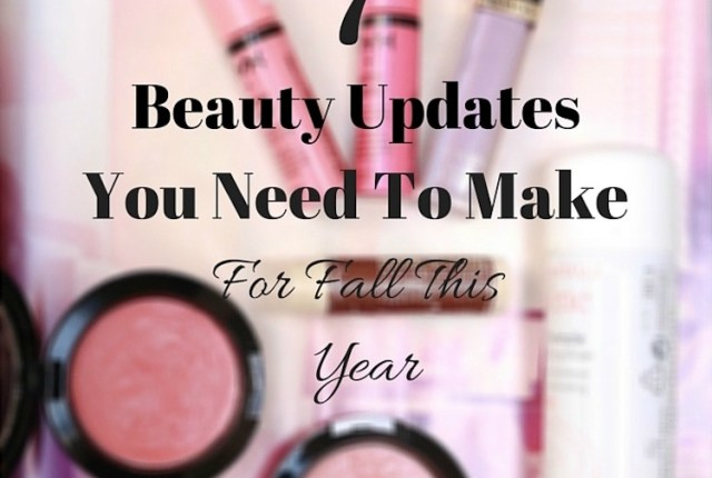 beauty updates for fall