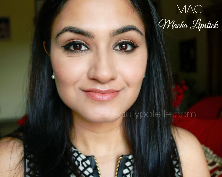 Bien-aimé MAC Satin Lipstick- Mocha: Review, Price, Swatches | A Beauty Palette UB59