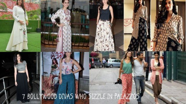 Bollywood divas who sizzle in palazzos
