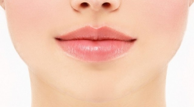 upper lip discoloration