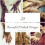 21 Pinterest-Inspired Beautiful Mehndi Designs