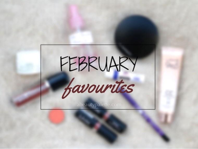 february 2017 favourites