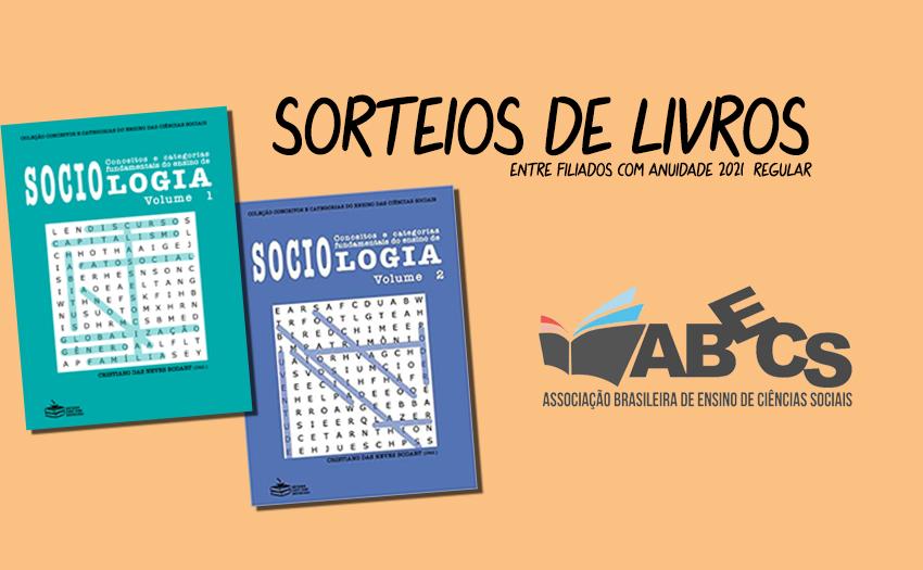 sorteio de livros de Sociologia