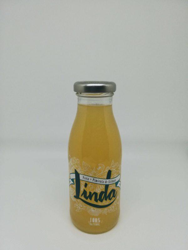 zumo linda pera