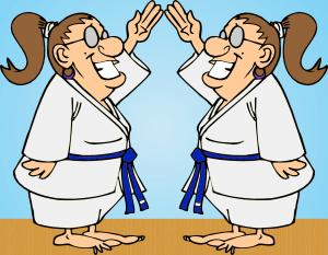karate ladies