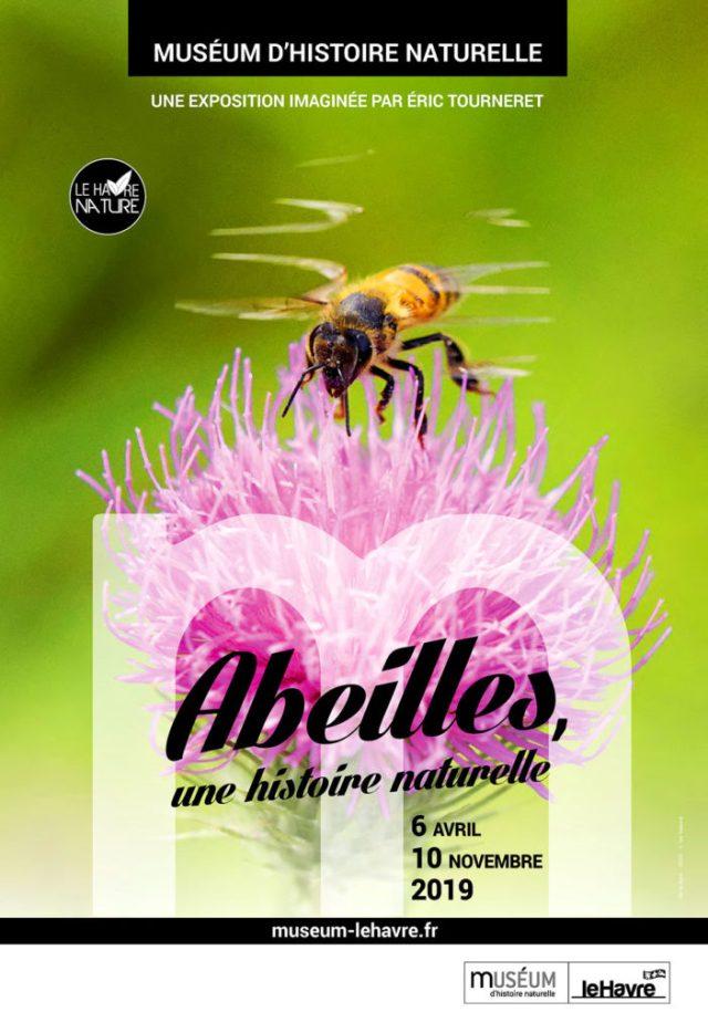 Affiche de l'exposition abeille au havre