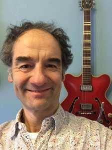 Abel de Lange - met gitaar