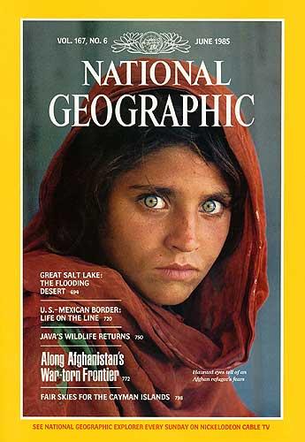 Los ojos de la niña afgana Sharbat Gula (2/5)
