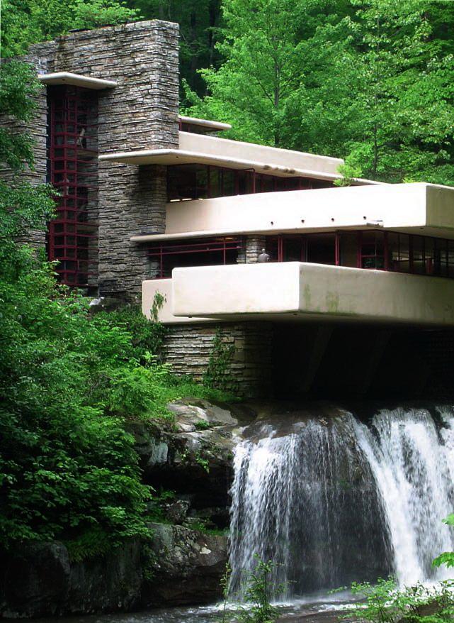 Fallingwater (Casa de la Cascada) de Frank Lloyd WRIGHT (5/6)