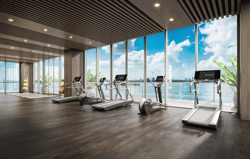 Condos With GYM Pool and More in Miami Dade South Florida
