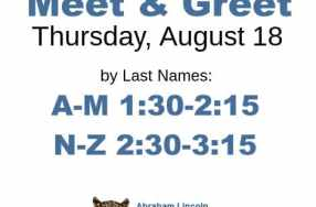 Meet & Greet – Thu 8/18