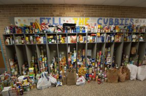 We Filled the Cubbies!! 2,087 Items!