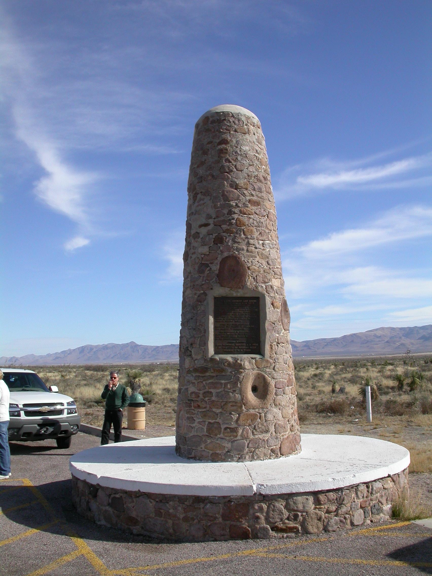 Geronimo Surrender Site In Skeleton Canyon