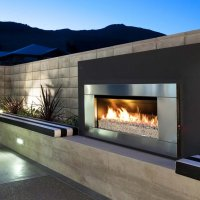 Escea EF5000 Outdoor Gas Fire - Ventless and No Flue Required