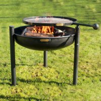 Legs Eleven Fire Pit With Swing Arm BBQ Rack | A Bell ...