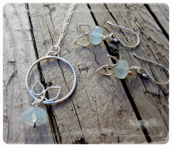 Handmade Earrings and Necklace