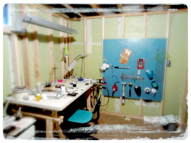 My metalsmith studio