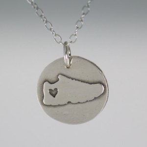 Petite Running Necklace by Abella Blue