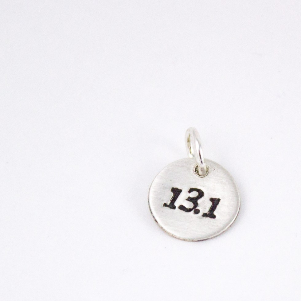 13.1 jewelry charm for runners – Abella Blue