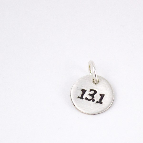 13.1 jewelry charm for runners - Abella Blue