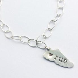 Charm Bracelet for Runners