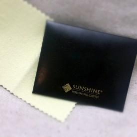 Sunshine polishing cloth