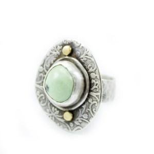 Womens Handmade Turquoise Ring