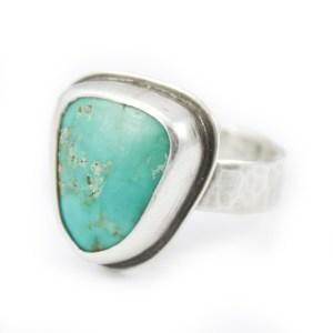 Abella Blue Turquoise Ring