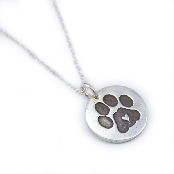 Handmade dog lovers necklace