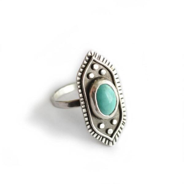 handmade boho style ring